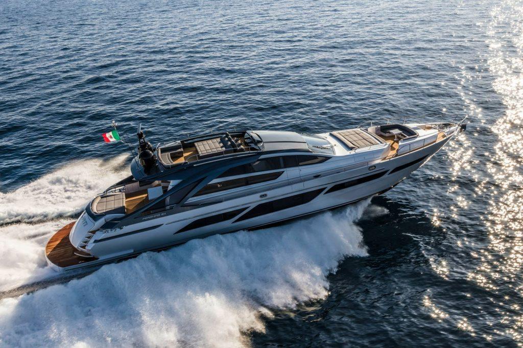 pershing 9X baloo yacht charter ibiza and majorca