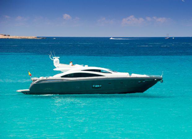sunseeker 84 alvium ibiza crewed yacht charter