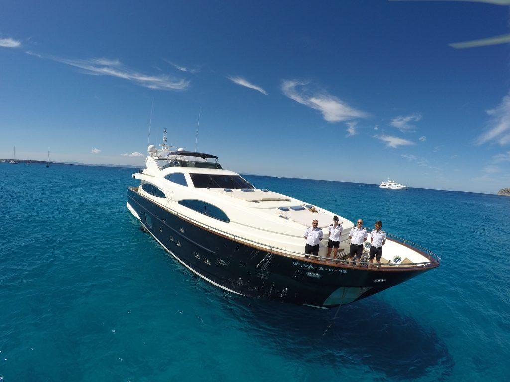 astondoa 102 kirios luxury yacht charter ibiza