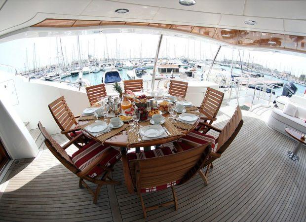 benetti 100´ yacht charter mallorca