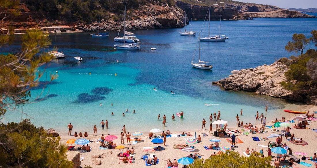 Cala Salada Ibiza Mapa.The Best Coves To Anchor In Ibiza Proyachts Charter Ibiza