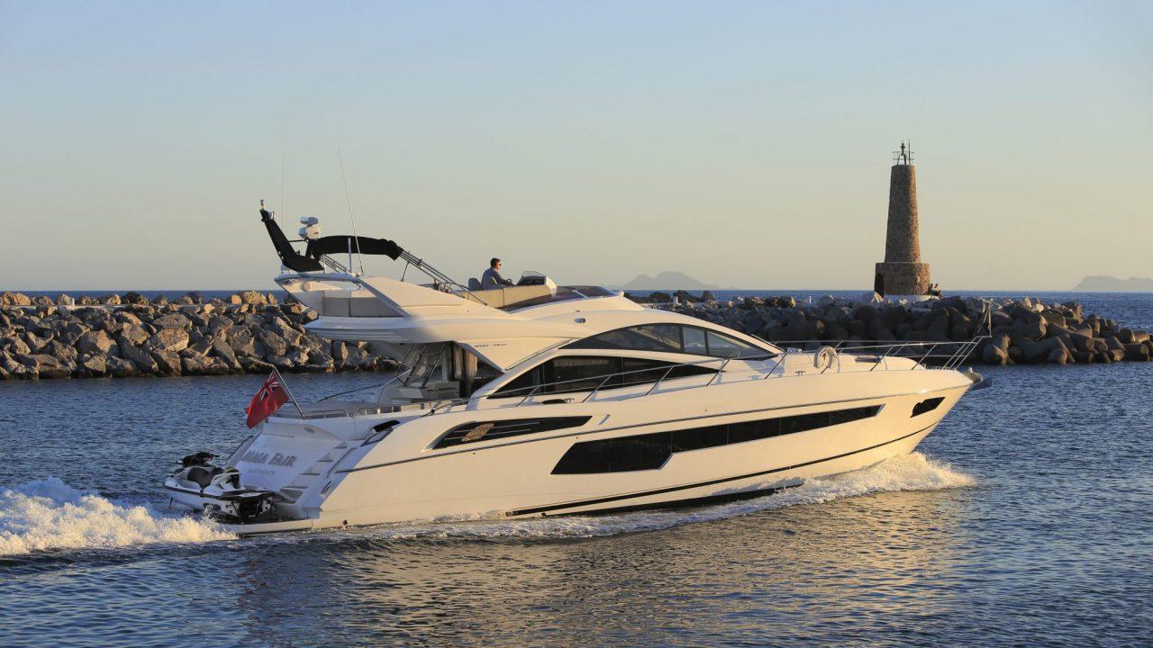 sunseeker 68 maia fair yacht charter marbella