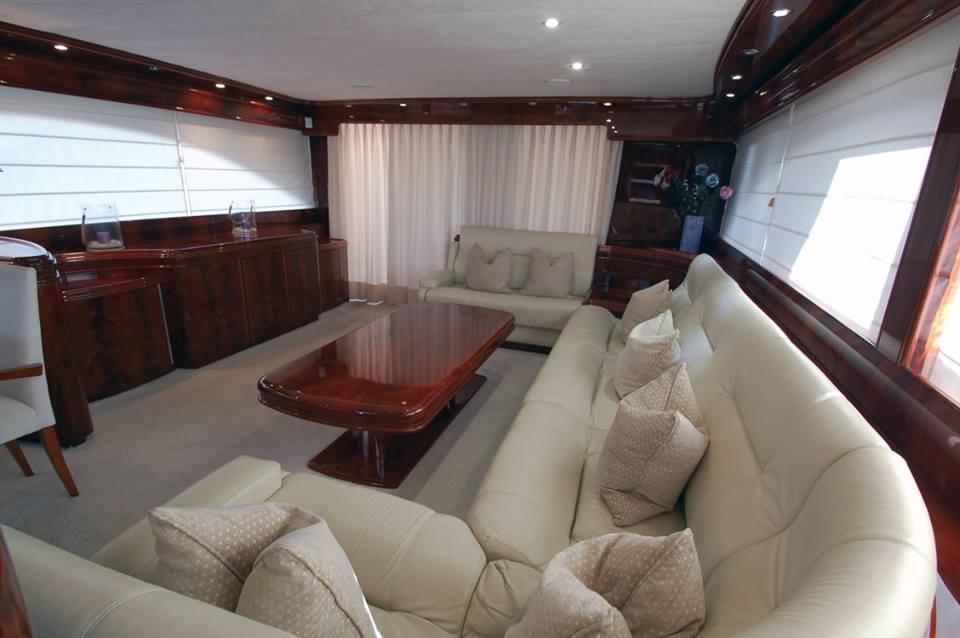 crewed yacht charter barcelona mallorca astondoa 82 dandy