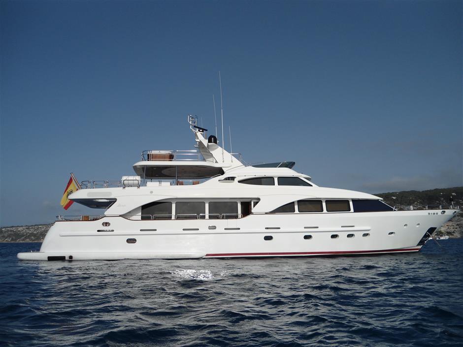 benetti yacht rental ibiza mallorca