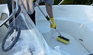 best tip for maintaining a boat
