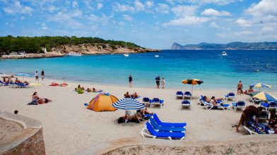 best caves and beaches ibiza yachts for charter