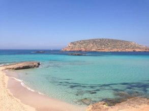 coves and beaches in ibiza motor yachts