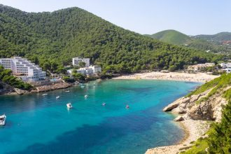best coves for anchor ibiza yacht rentals