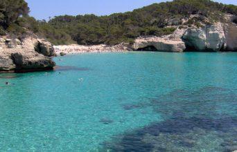 teh best beaches and coves cala mitjana menorca