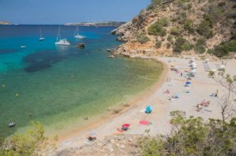 The best coves to anchor in Ibiza - Proyachts charter Ibiza