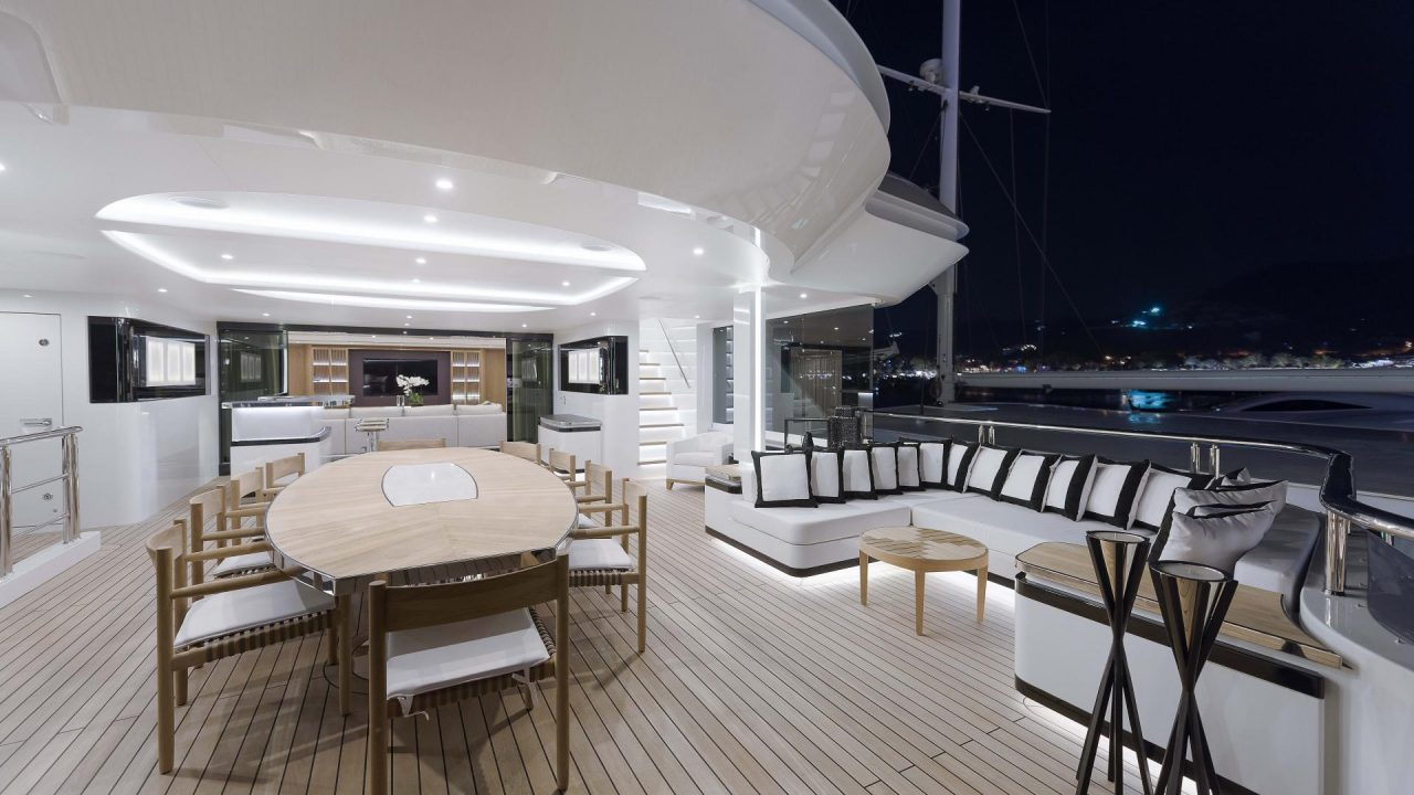 superyacht charter balearics cmb 155 liquid sky