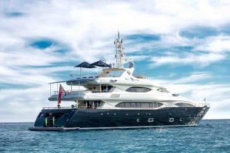 crn 130´ bunker ibiza yacht rental