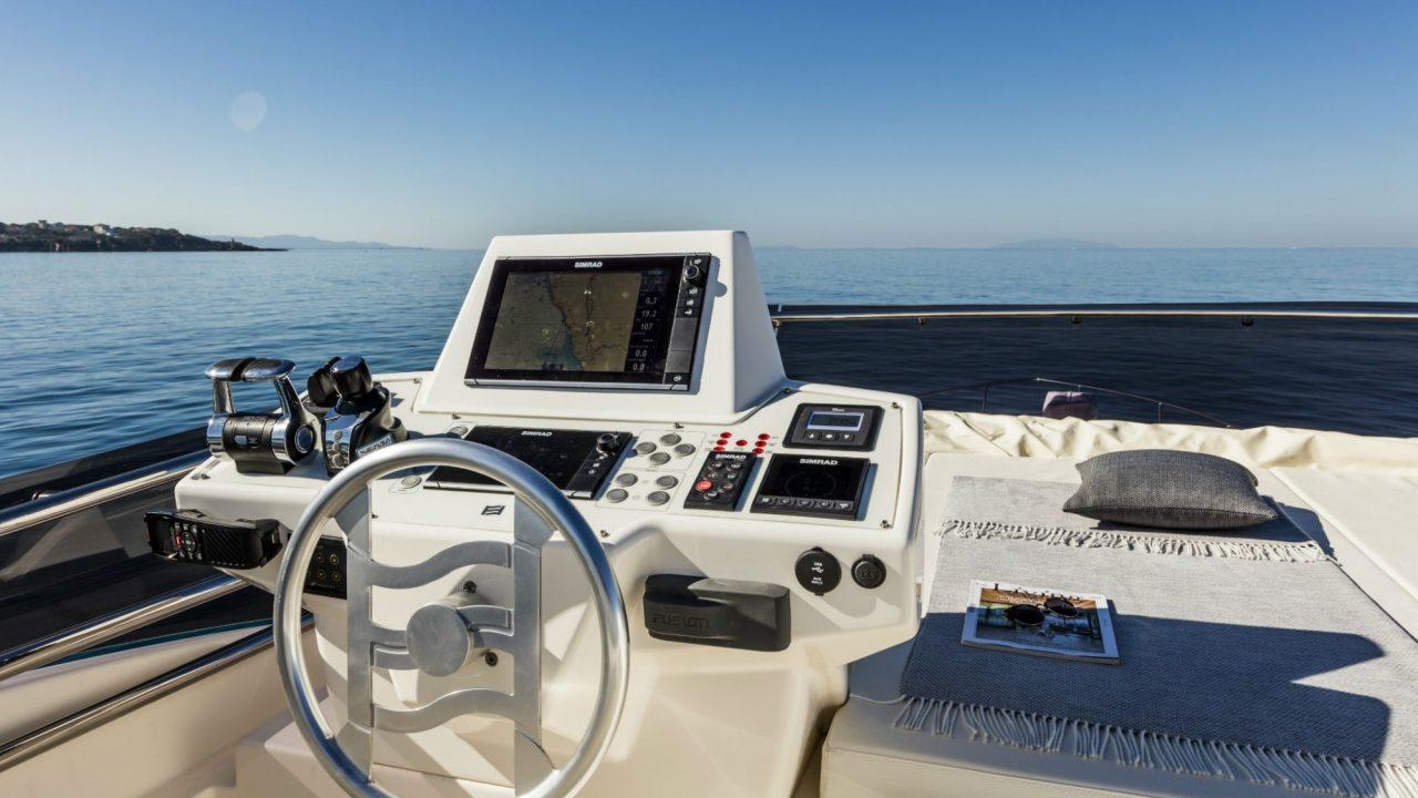 cockpit ferretti 550 fly yachts for rental mallorca balearic islands