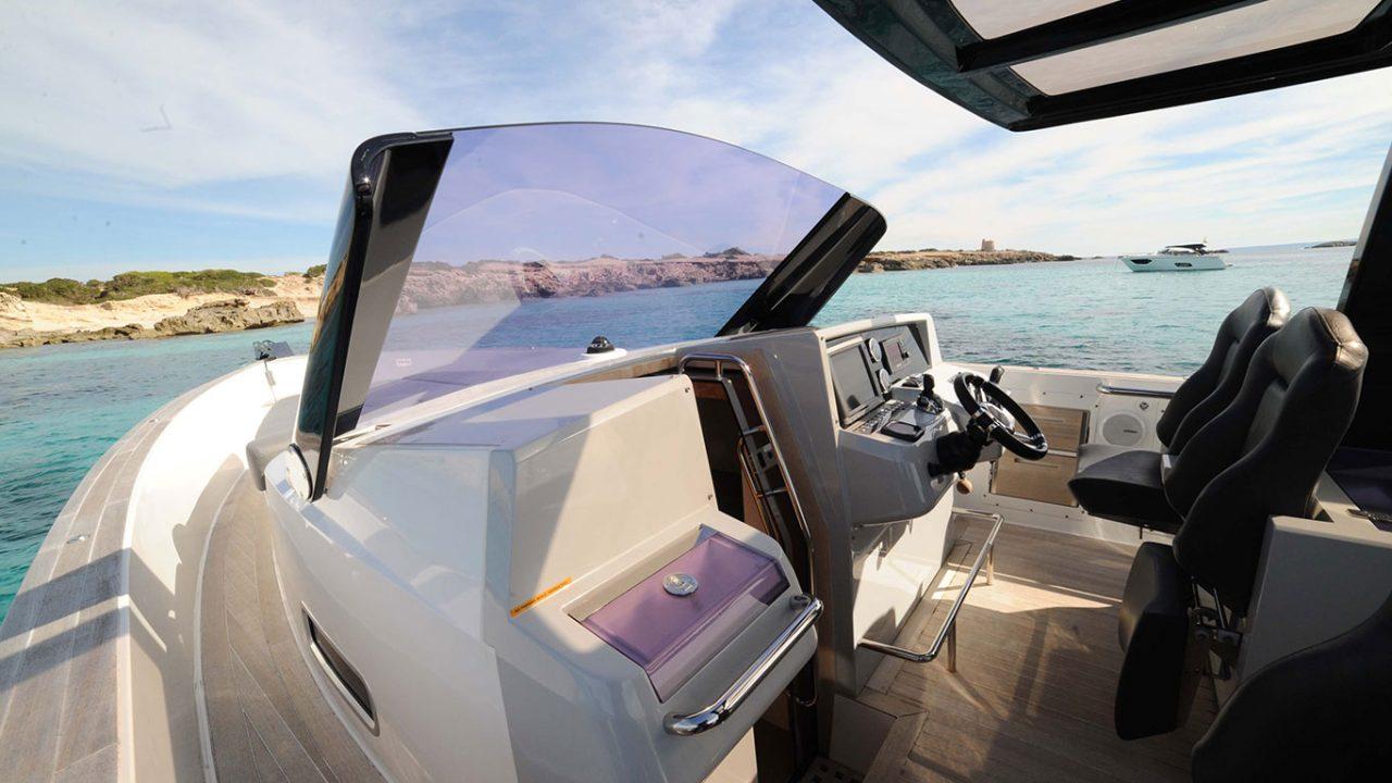 boat hire ibiza formentera fjord 40 patandreas
