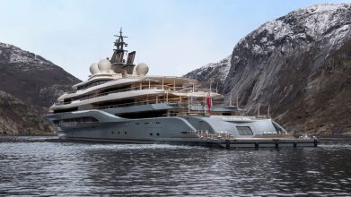 most expensive luxury charter yacht