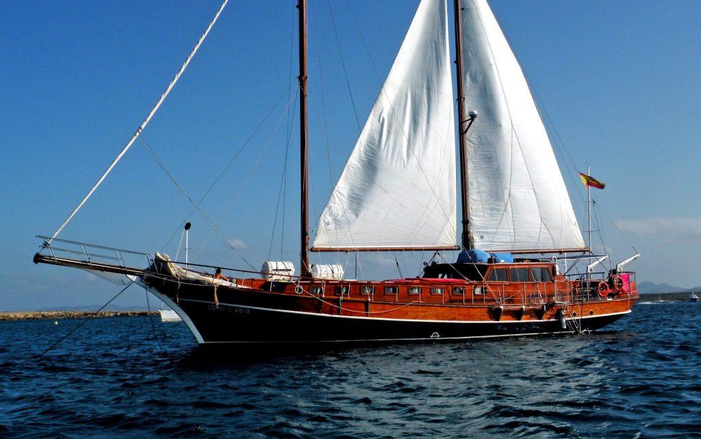 alania boat rental ibiza mallorca gulet 27m