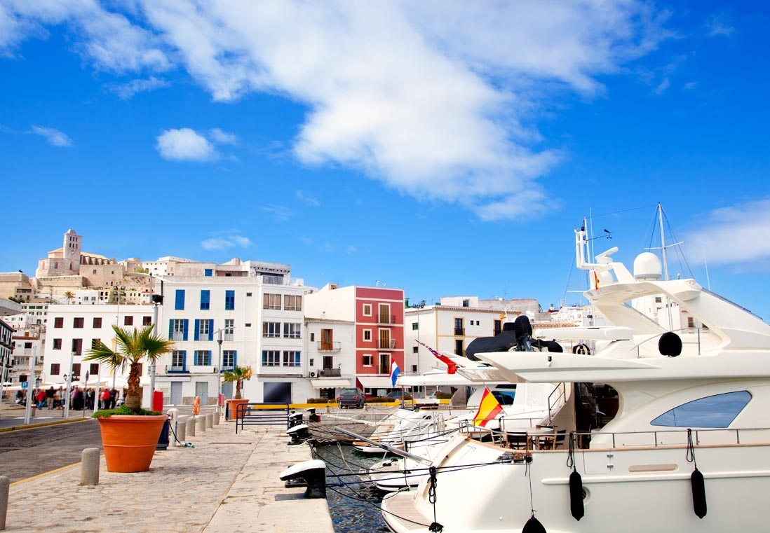 port of ibiza for rental boats yachts charter