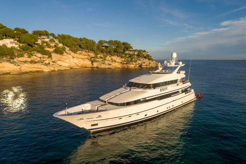 lurseen 41m envy luxury yacht charter mallorca ibiza