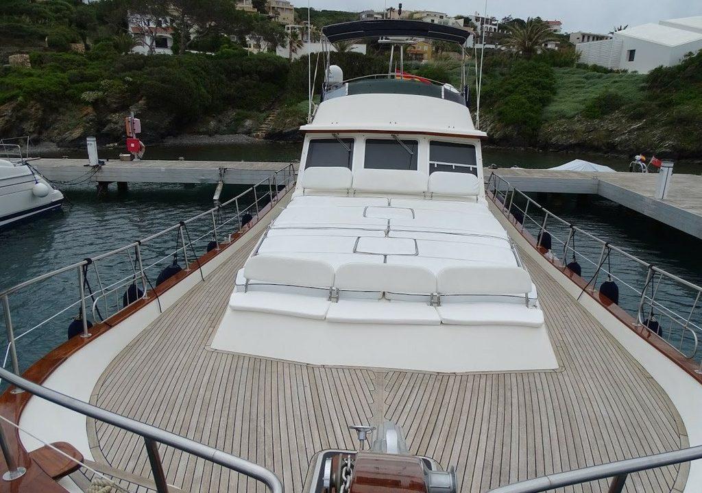 boat rental menorca menorquin 180