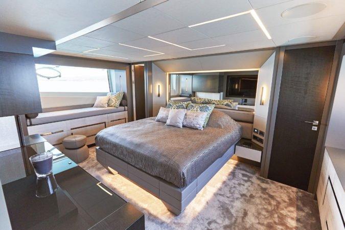 pershing 9X baloo yacht charter ibiza