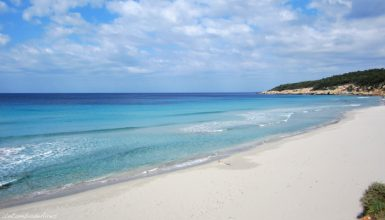 the beaches and coves in menorca playa de binigaus