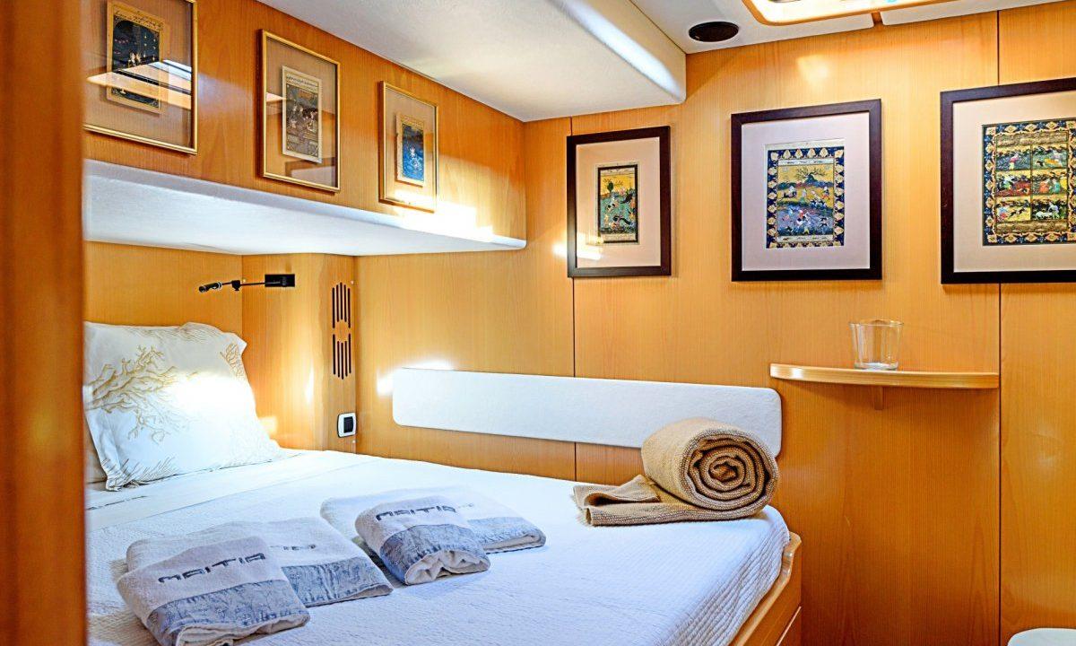 ibiza catamaran charter rental privilege 615 maitia