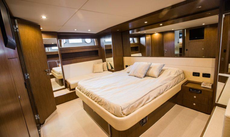 mallorca yacht rental riva ego 68