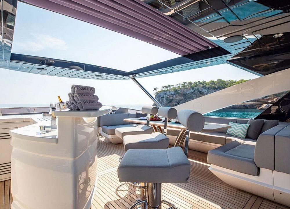 sunseeker 86 rush x luxury yacht charter mallorca