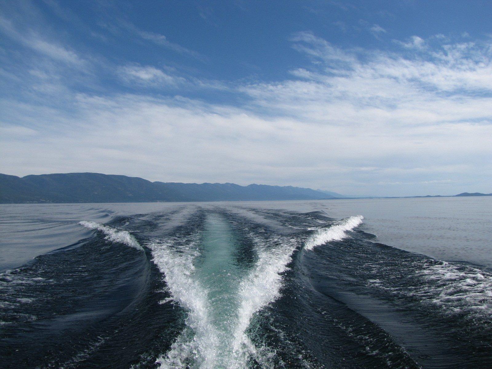 take car of the sea while sailing balearic islands