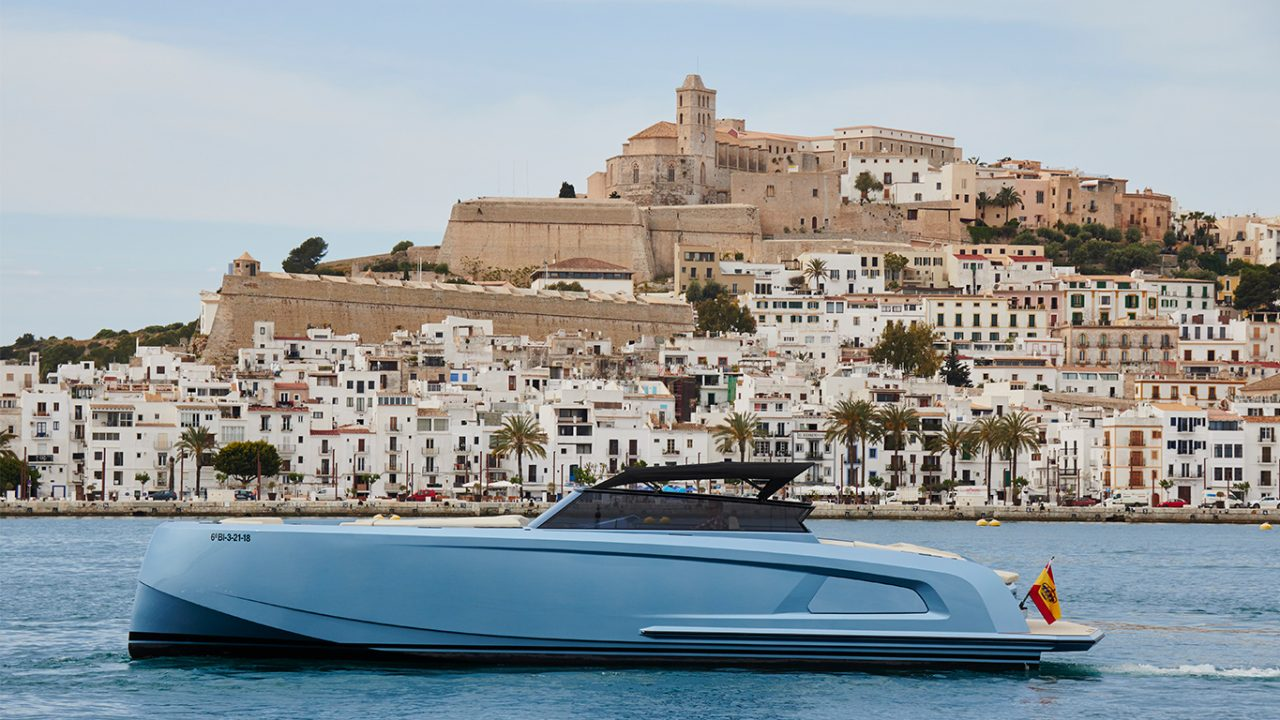 boat rental ibiza formentera vanquish 45 sal