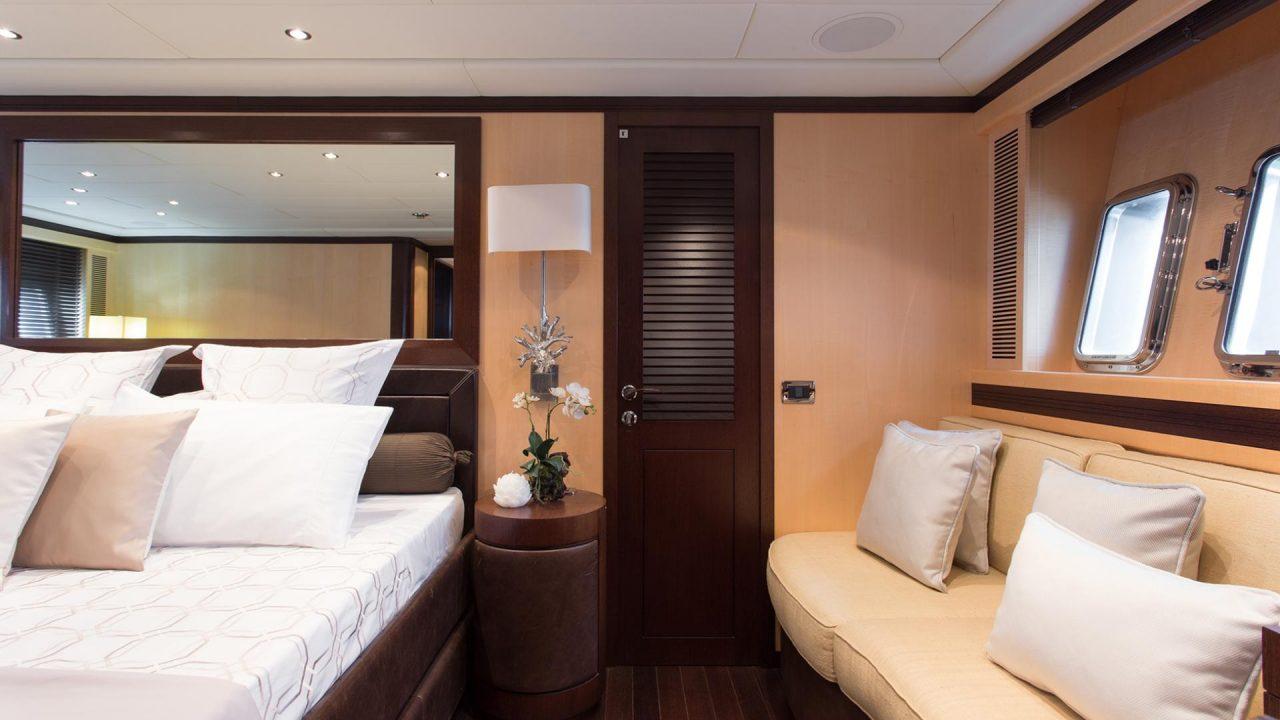 mangusta 92 charter ibiza luxury yachts