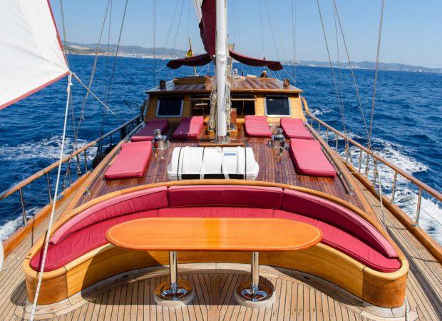 gulet 24m why not charter ibiza mallorca