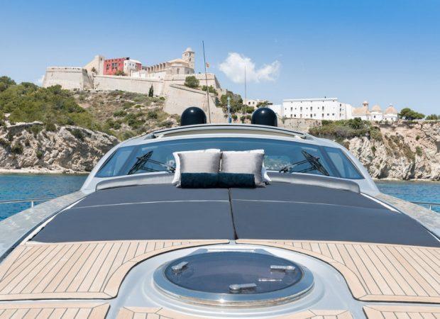 yacht charter ibiza pershing 72 sensations