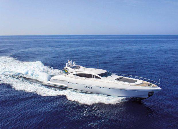 mangusta 108 alquiler barco ibiza
