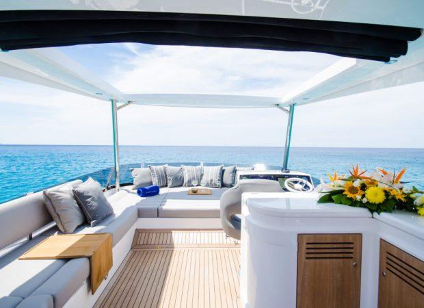 sunseeker 66 adriano motor boat hire mallorca