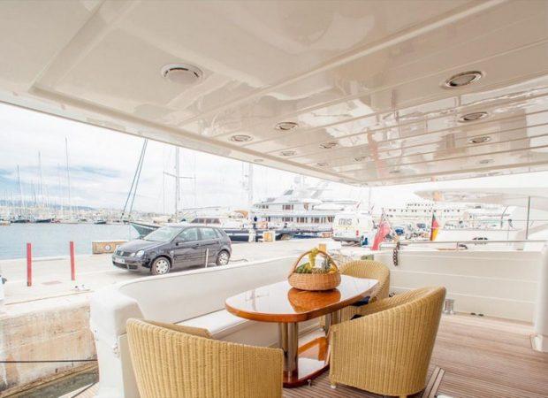 technema 85 elecon mallorca yacht charter