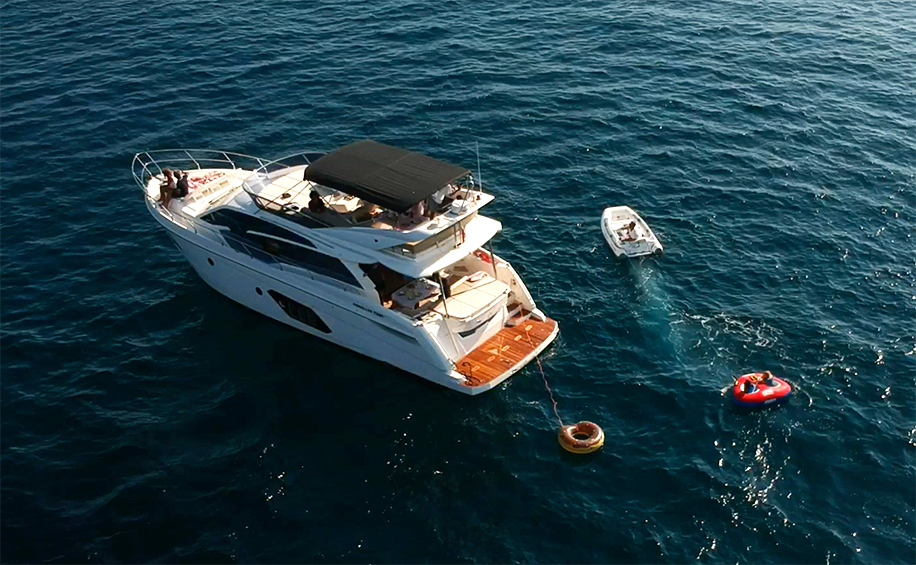 boat rental barcelona mallorca absolut 52 steady rider