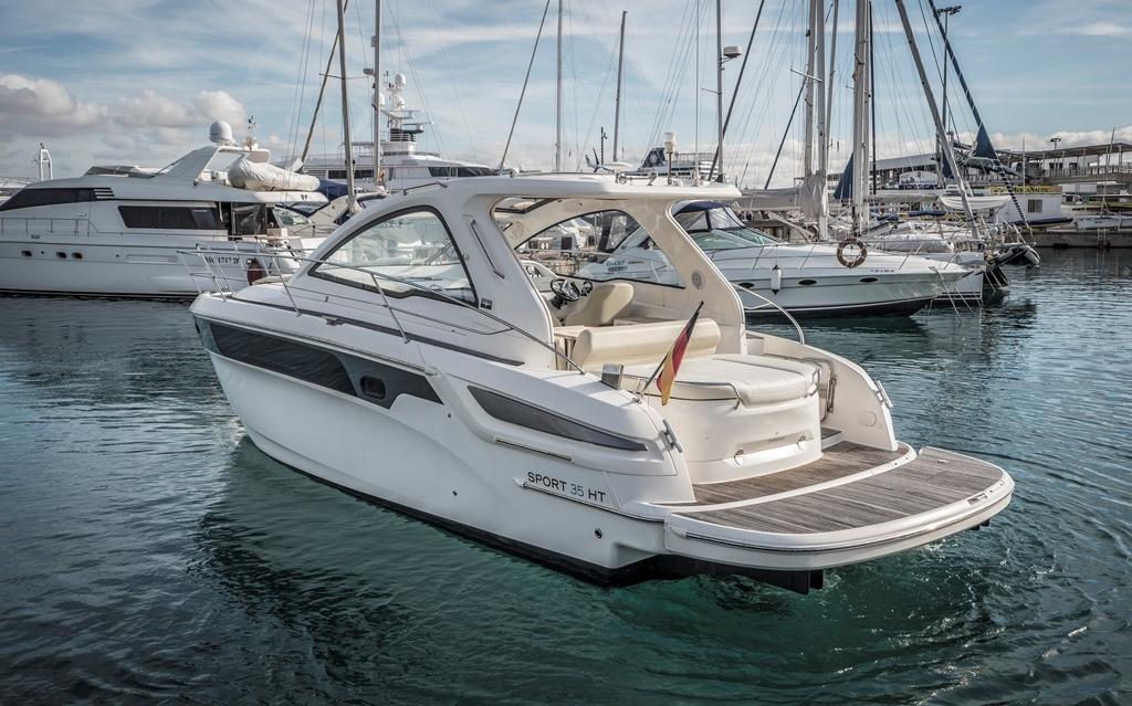 mallorca alquiler barcos motor bavaria 35 sport