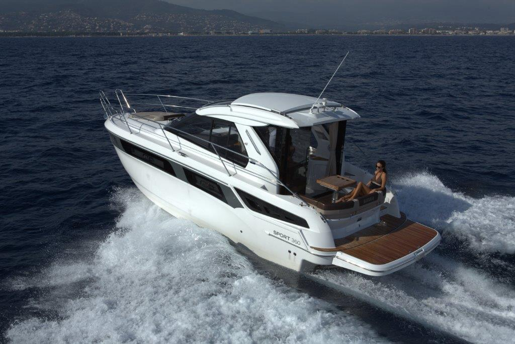 mallorca boat charter rental bavaria 360 sport