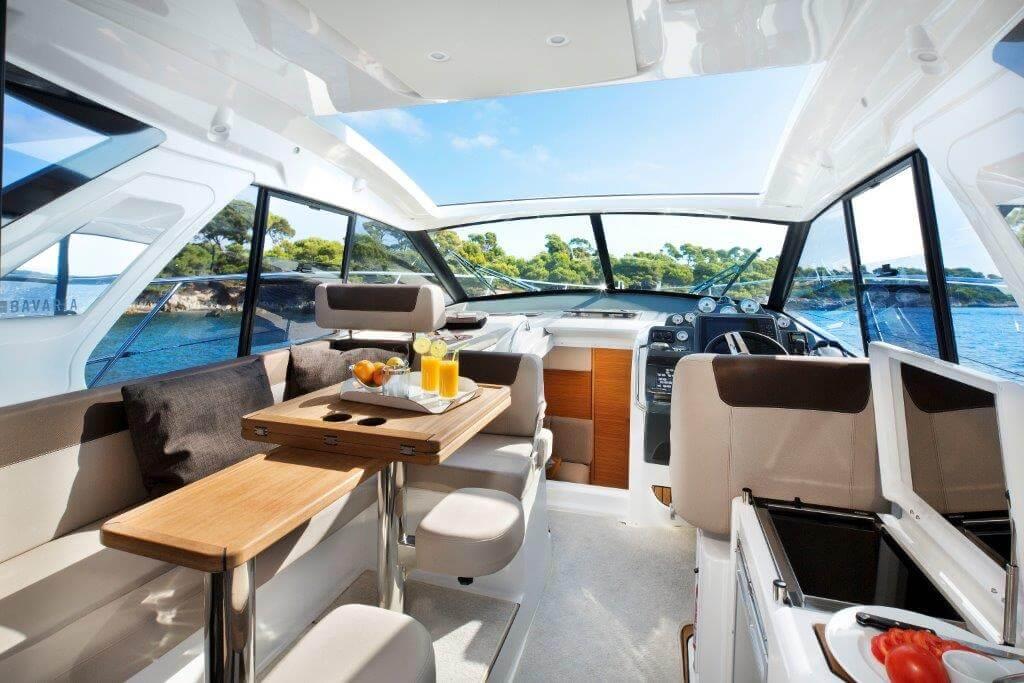 mallorca alquiler barcos motor bavaria 360 sport
