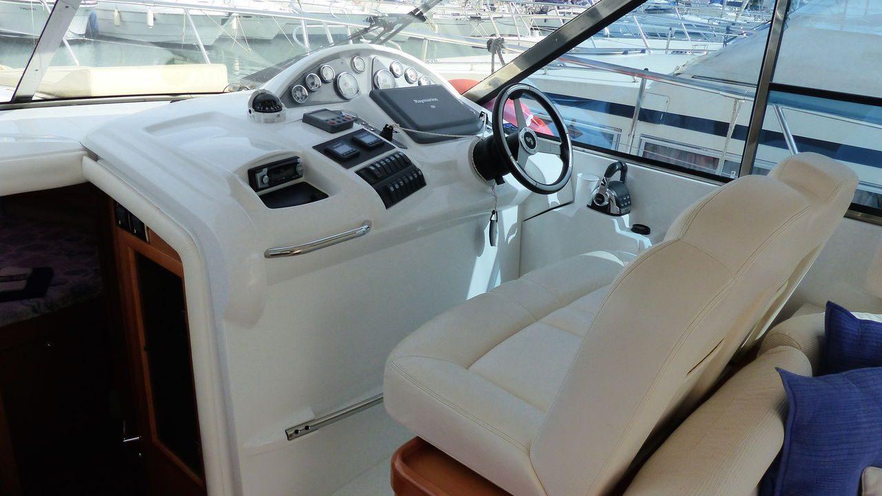 mallorca alcudia barcos motor beneteau flyer 12
