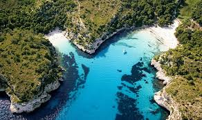 cala macarella menorca balearic islands