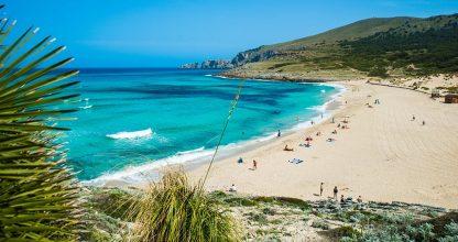 las mejores playas de mallorca cala mesquida