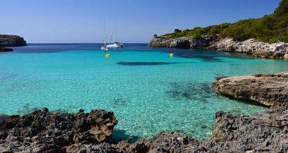 las mejores playas y calas de menorca cala turqueta