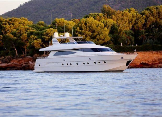 canados 80 jurik mallorca ibiza crewed boat charter