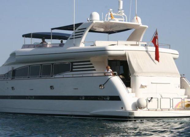 crewed boat charter mallorca elegance 95 smiles of london