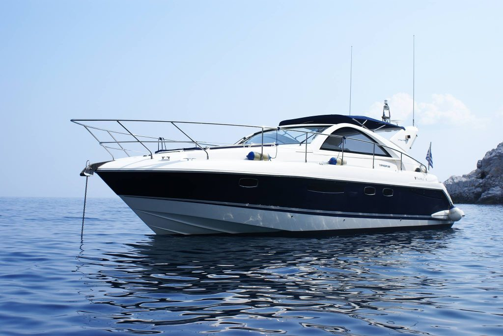 alquiler barcos menorca fairline 38 targa