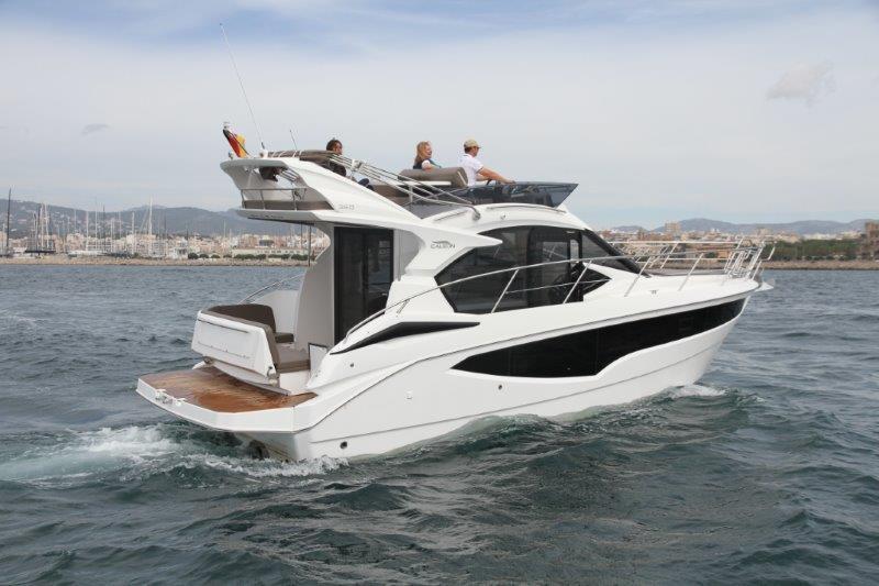 mallorca bareboat charter galeon 360 fly