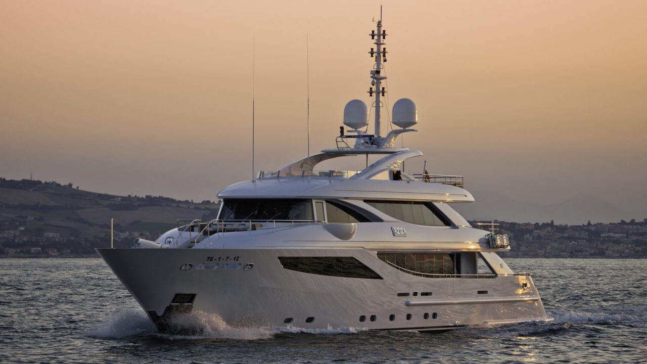 isa 120 yacht rental in mallorca