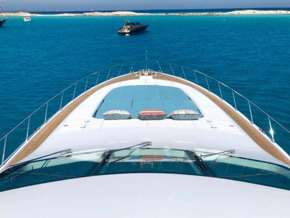 luxury yacht charter ibiza mangusta 108 belisa